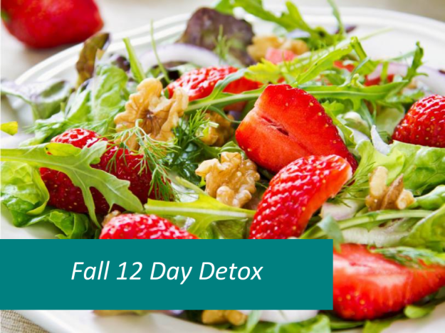 Did you hear? The 12 Day Detox Program is returning September 14, 2015. Join us!