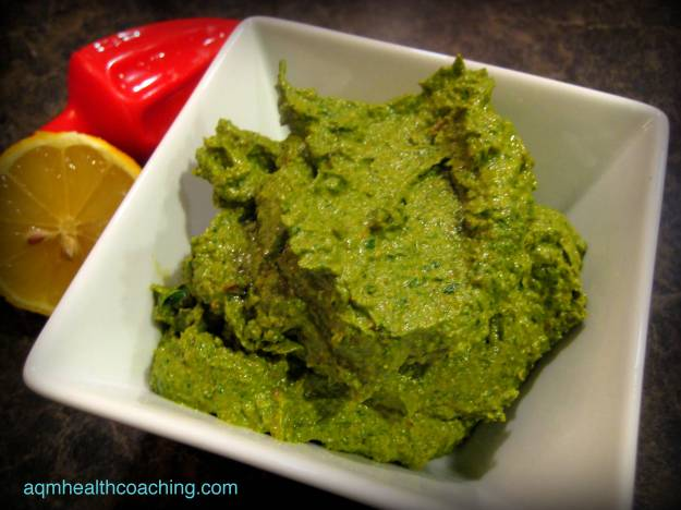 Pesto is a great shortcut to many healthy and delicious meals.