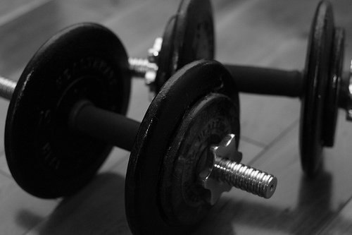 photo credit: Day 47: Weights via photopin (license)