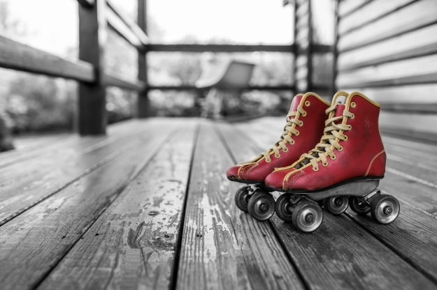 Put those roller skates back on. Get on your bike. Climb a mountain. Keep moving and growing.