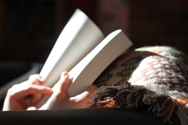 Reading is a part of how I relax and destress - so it's something I make room for in my self care plan.