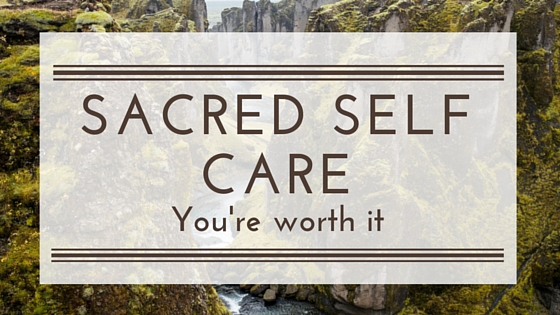 Make self care sacred, non-negotiable so that the things you need to do to lose weight or live your live don't fall to the wayside.